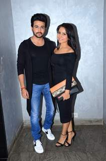 Dheeraj Dhoopar at Premiere of Short film 'Ankahee Baatein'