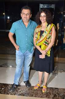 Atul Parchure at Success Bash of 'Natsamrat'