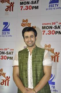 Pearl V Puri at Launch of Zee TV's New Show 'Meri Sasu Maa'