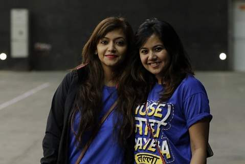 Pariva and Roopal at BCL Season 2 Practise Session