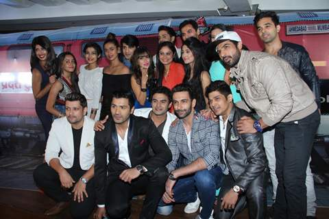 Ahmedabad Express Team Photo at Launch of BCL's Ahmedabad Express Team