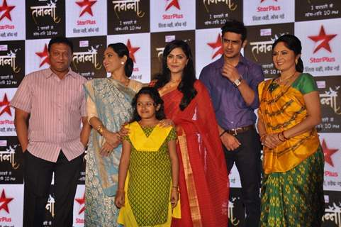 Cast of 'Tamanna' at Launch of TV show