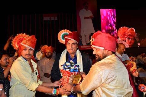 Ali Khan at the Annual Function of Film Studio Setting and Allied Mazdoor Union