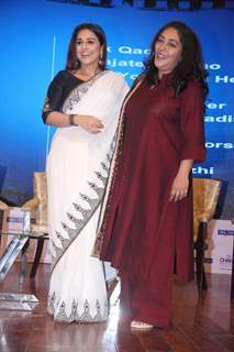 Vidya Balan and Meghna Gulzar at 'I am the Change Awards'