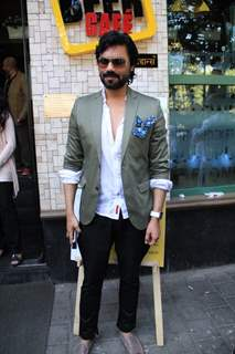 Gaurav Chopra at Launch of 'The Beer Cafe'
