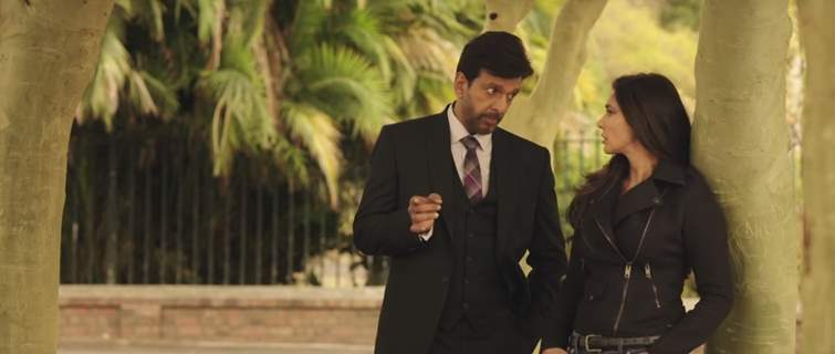 A Still of Javed Jaffrey and Lisa Ray in Ishq Forever