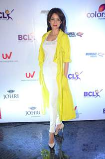 Vidya Malvade at Launch of Anthem for BCL Team 'Mumbai Tigers'