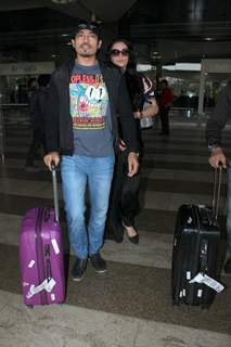 Shawar Ali Snapped at Airport