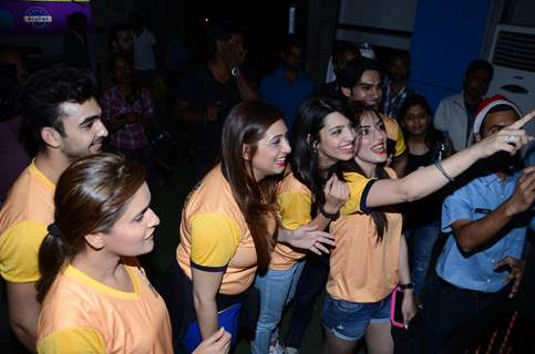 Sunny Leone and BCL's Chennai Swaggers at Smaash