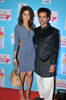 Anuj Sachdeva with Monica Gill at Special Screening of 'Love Shagun'