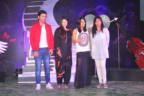 Ekta Kapoor With the Cast at Launch of Colors' New Show 'Kasam Tere Pyaar Ki'