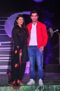 Kratika Sengar and Ssharad Malhotra at the Launch of Colors' New Show 'Kasam Tere Pyaar Ki'