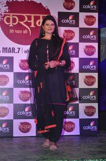 Kratika Sengar at the Launch of Colors' New Show 'Kasam Tere Pyaar Ki'
