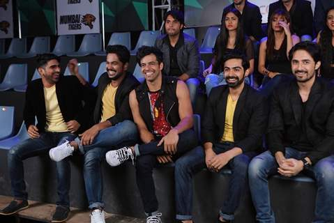 BCL Team Chennai Swaggers at the Curtain Raiser Event