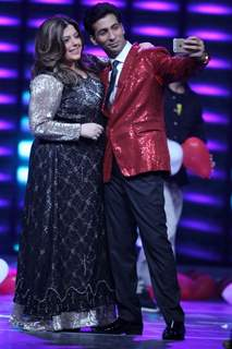 Delnaaz Irani in Power Couple