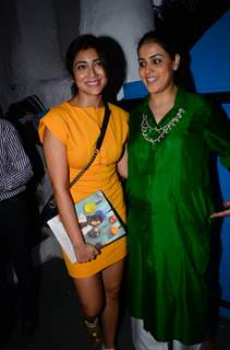 Genelia Dsouza and Shreya Saran at Launch of Maria Goretti's Book 'From my kitchen to yours'
