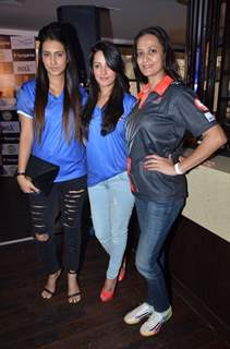 Celebs at Box Cricket League Bash