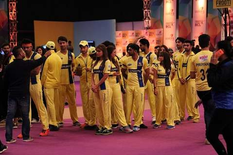 Chennai Swaggers at BCL Parade Ceremony
