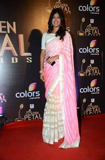 Aishwarya Sakhuja at Golden Petal Awards 2016