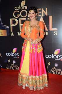 Kratika Sengar at Golden Petal Awards 2016