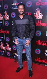 Actor Rahul Mahajan at Jai Gangajal Red Carpet Special Screening