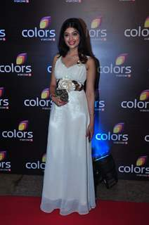 Digangana Suryavanshi at Colors TV's Red Carpet Event