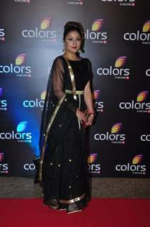 Uravashi Dholakia at Colors TV's Red Carpet Event