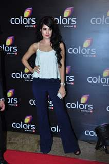 Yuvika Chaudhary at Colors TV's Red Carpet Event