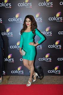 Sudeepa Singh at Colors TV's Red Carpet Event