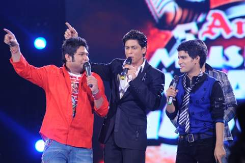 Shahrukh Khan with Aneek and Vineet