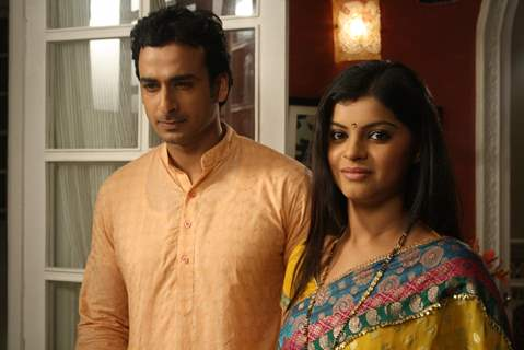 Still image of Pankaj and Jyoti