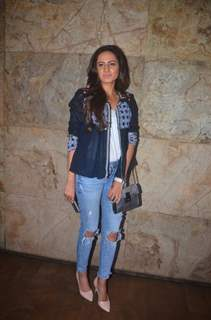 Sargun Mehta Attends Special Screening of a Film at Lightbox