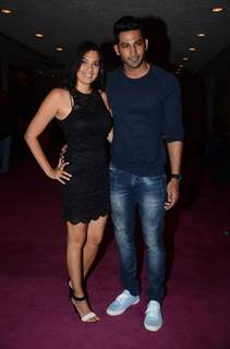 Vivan Bhatena with wife at Premiere of 'Who's Line is It Anyway'