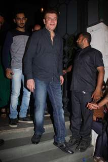 Aditya Pancholi at Sanjay Leela Bhansali's Party for Winning National Award