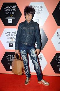 Rohhit Verma  at Lakme Fashion Show 2016