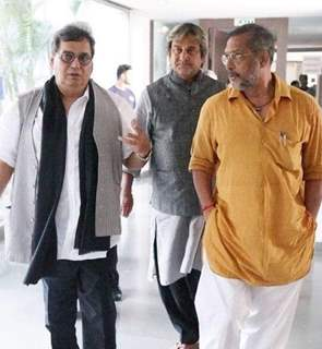 Subhash Ghai welcomed Nana Patekar and Mahesh Manjrekar at Whistling Wood international