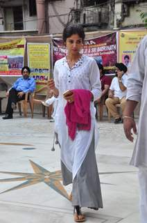 Ratan Rajput at Prayer Meet of 'Pratyusha Banerjee'