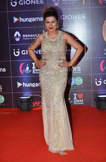 Hard Kaur at COLORS GiMA AWARDS 2016