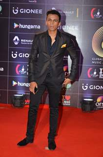 Abhijeet Sawant at COLORS GiMA AWARDS 2016