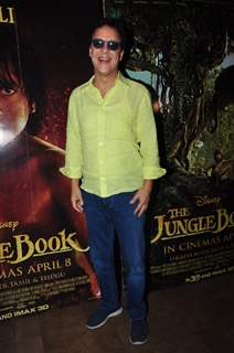 Director Vidhu Vinod Chopra at Special Screening of 'The Jungle Book'