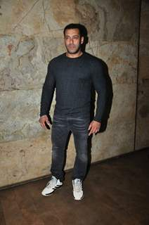 Salman Khan at Special Screening of 'The Jungle Book'