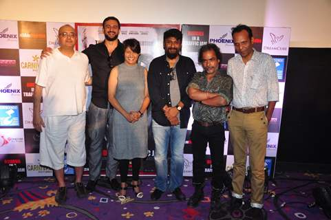 Pallavi Joshi and Arunoday Singh at Promotions of 'Buddha in a Traffic Jam'
