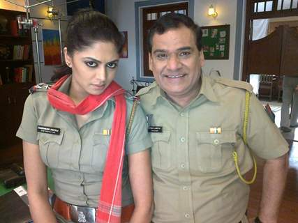 Kavita Kaushik and Gopi Bhalla in Sab TV's show F.I.R