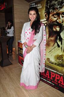 Lisa Ray at Press Meet of Veerappan