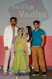 Avinash, Gracy Goswami, Mahhi Vijj & Ruslaan at Launch of 'Balika Vadhu...Lamhe Pyaar Ke'