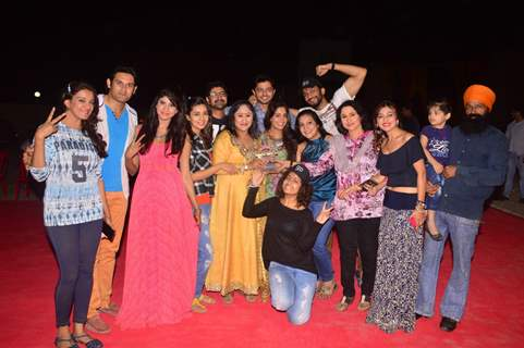 Cast of Sasural Simar Ka at it's 5th Anniversary Party