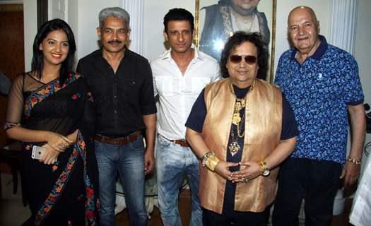 Mahurat of Film Sayonara Phir Milenge at Lahiri House