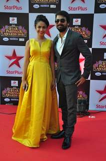 Celebs at Star Parivar Awards Red Carpet Event