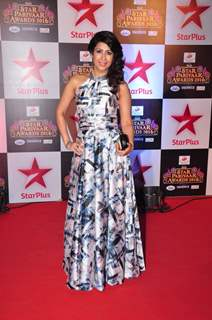 Ankita Bhargava at Star Parivar Awards Red Carpet Event