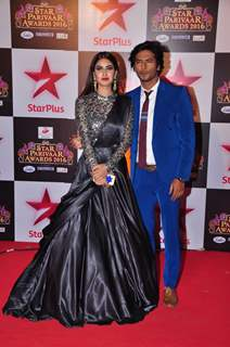 Sehban Azim at Star Parivar Awards Red Carpet Event